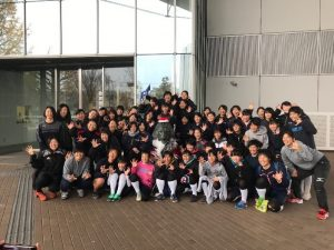 日本体育大学 遠征
